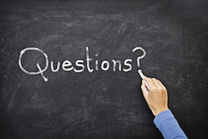 Questions blackboard